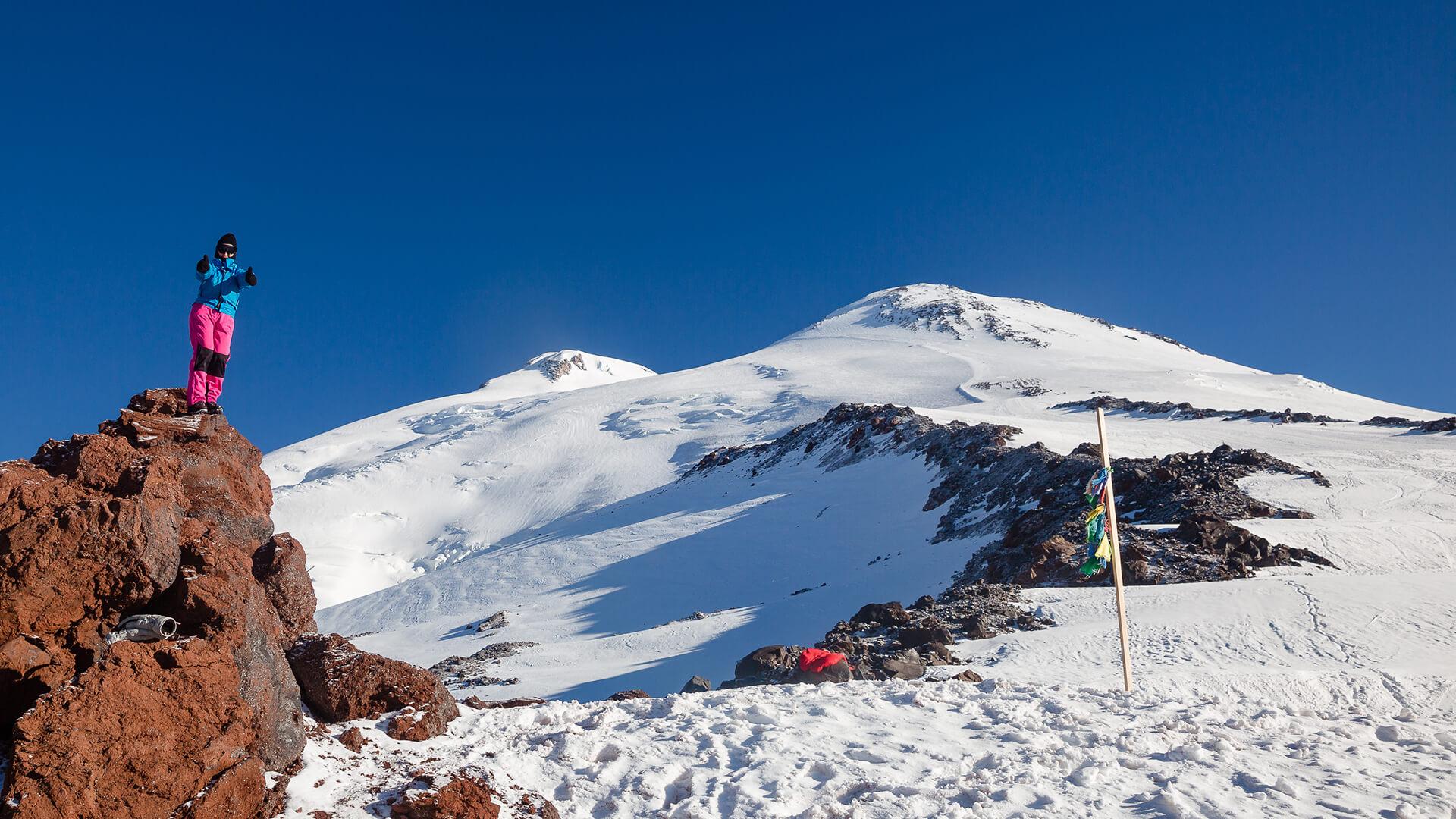 Восхождение на Эльбрус с юга в августе