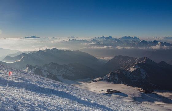 Восхождение на Эльбрус с юга в июле