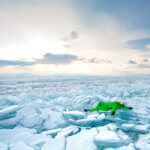 1 ледяные торосы на байкале