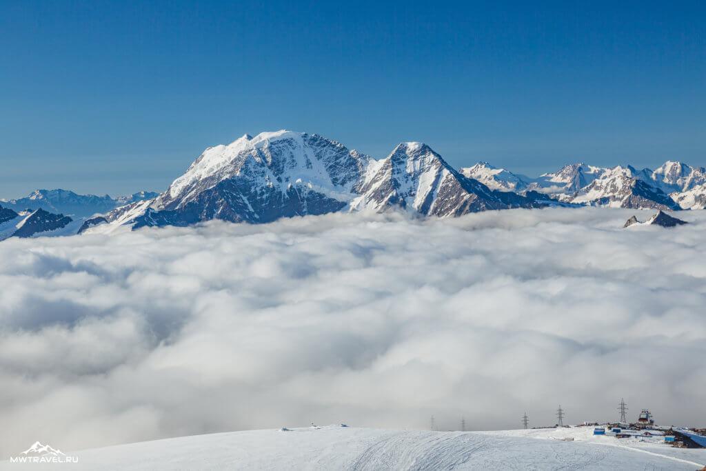 19 большой кавказский хребет эльбрус
