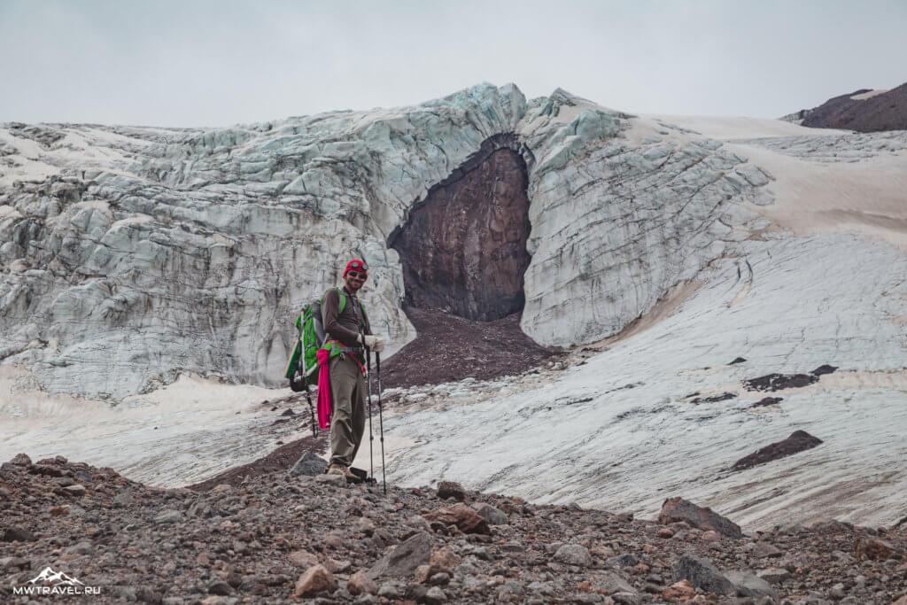 2 ледник терскол эльбрус