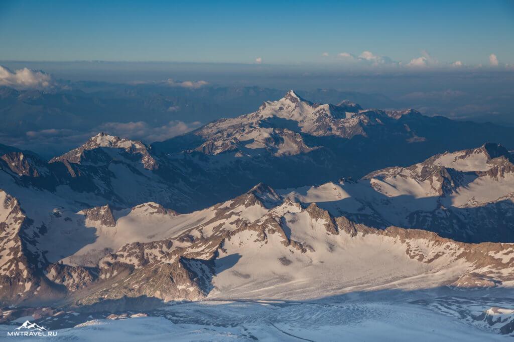 24 виды на горы кавказа с эльбруса