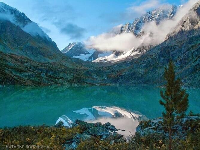 горное озеро алтай