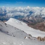 30 вид с вершины эльбруса