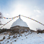 буддистская ступа просветеления остров огой байкал