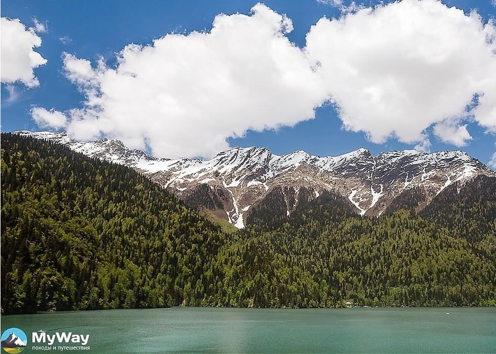 Пеший поход в горы Абхазии: Пшегишхва
