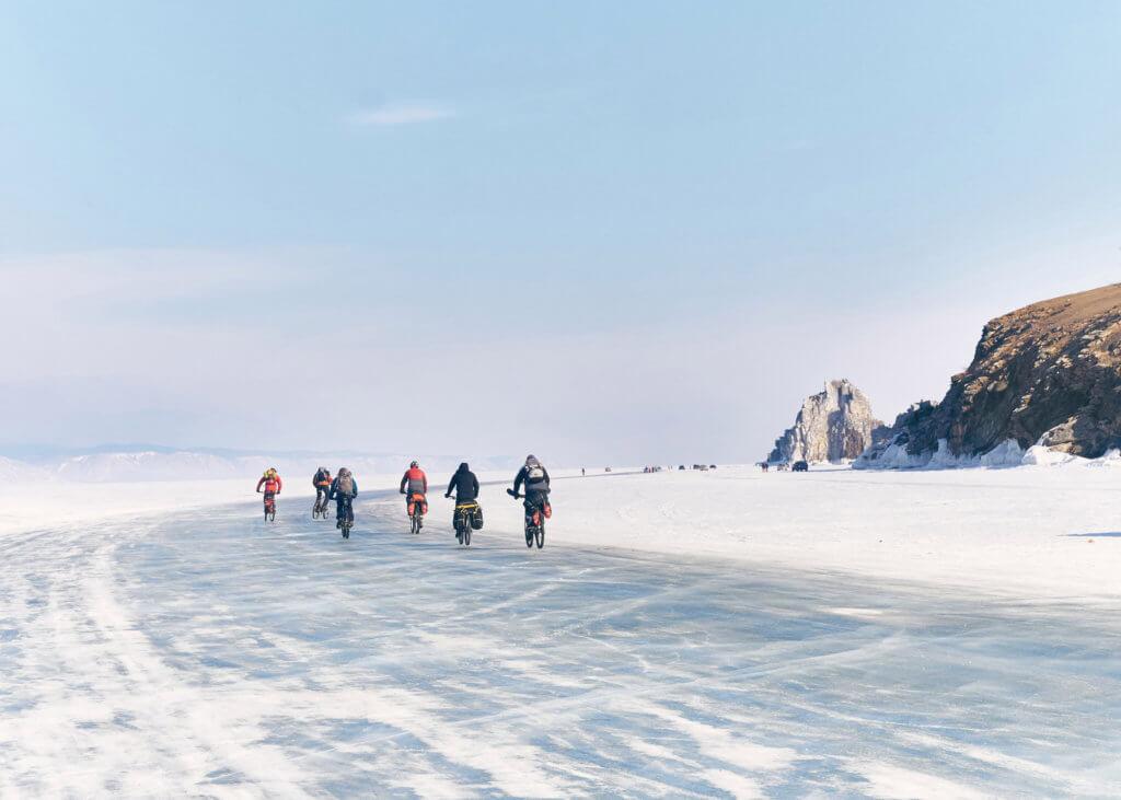 лед байкала велопоход