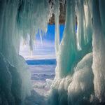 ледяные пещеры на байкале