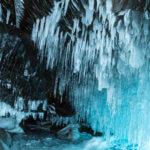 ледяные пещеры на байкале в феврале