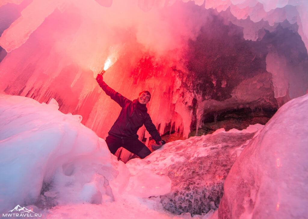 4. в ледяном гроте на байкале