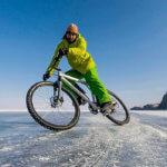 велопутешествие по льду байкала