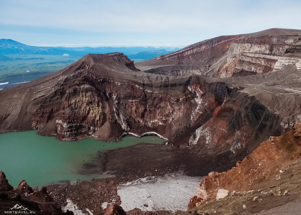 Поход по Камчатке: вулкан горелый