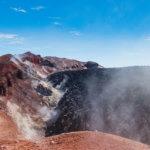 кратер авачинского вулкана