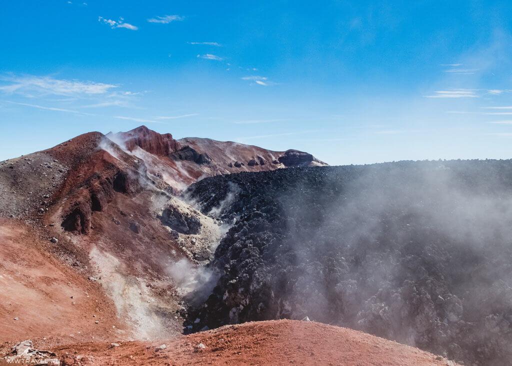 Поход по Камчатке: кратер авачинского вулкана