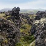 Поход по Камчатке: лавовые поля
