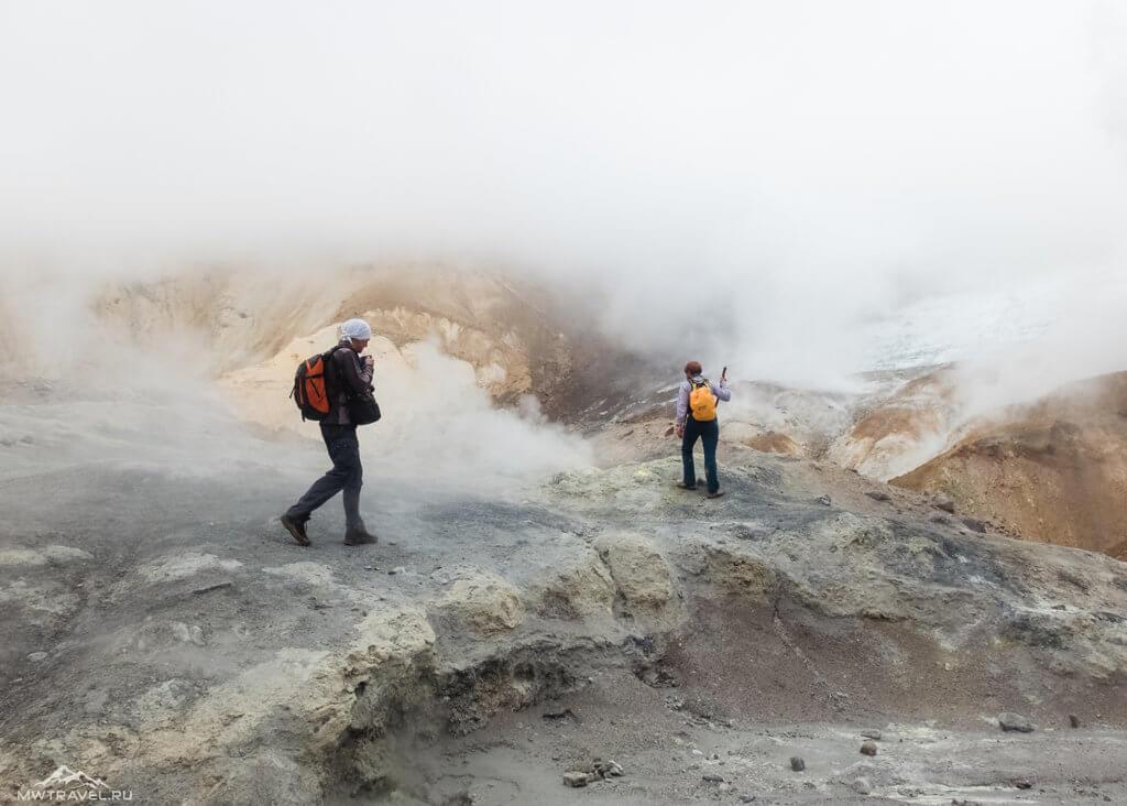 камчатка мутновский вулкан