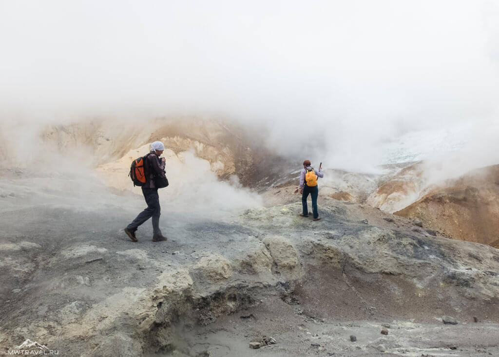 Поход по Камчатке: мутновский вулкан