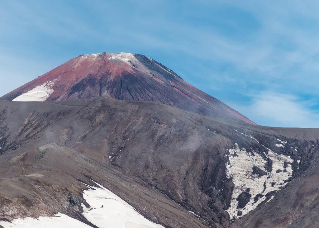 Поход по Камчатке: вид на авачинский вулкан
