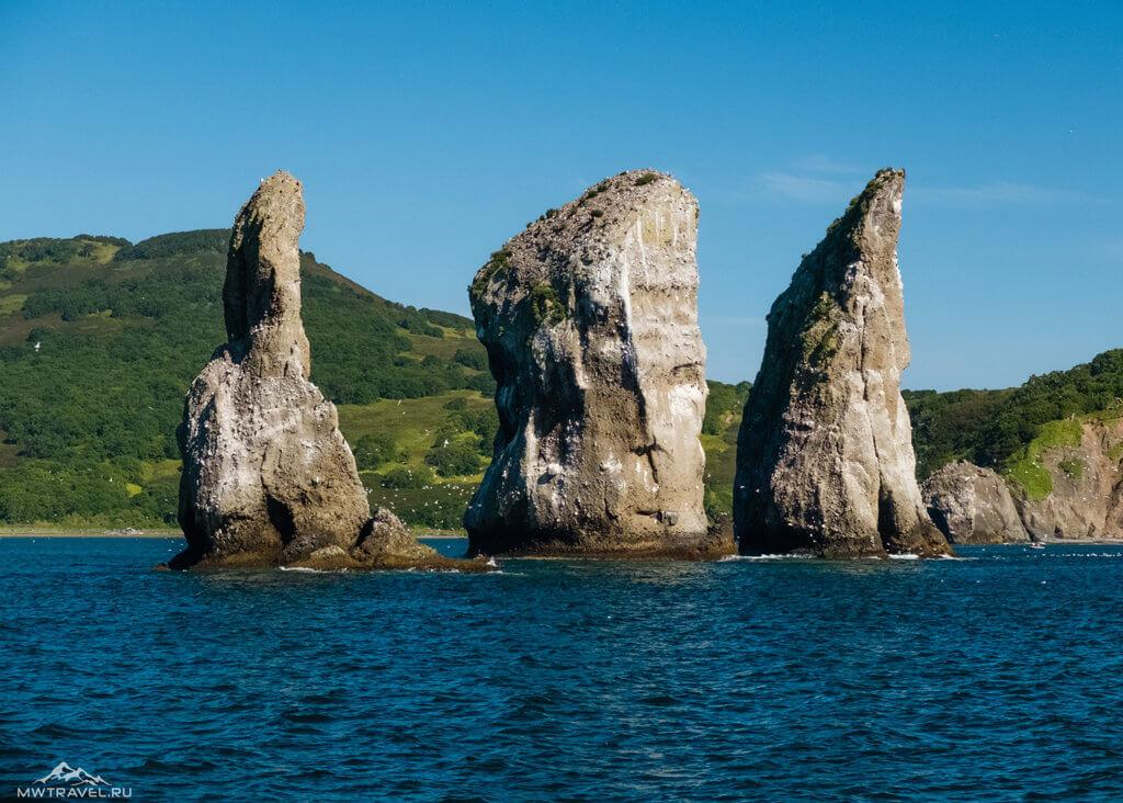 Поход по Камчатке: океан морская прогулка 3 брата