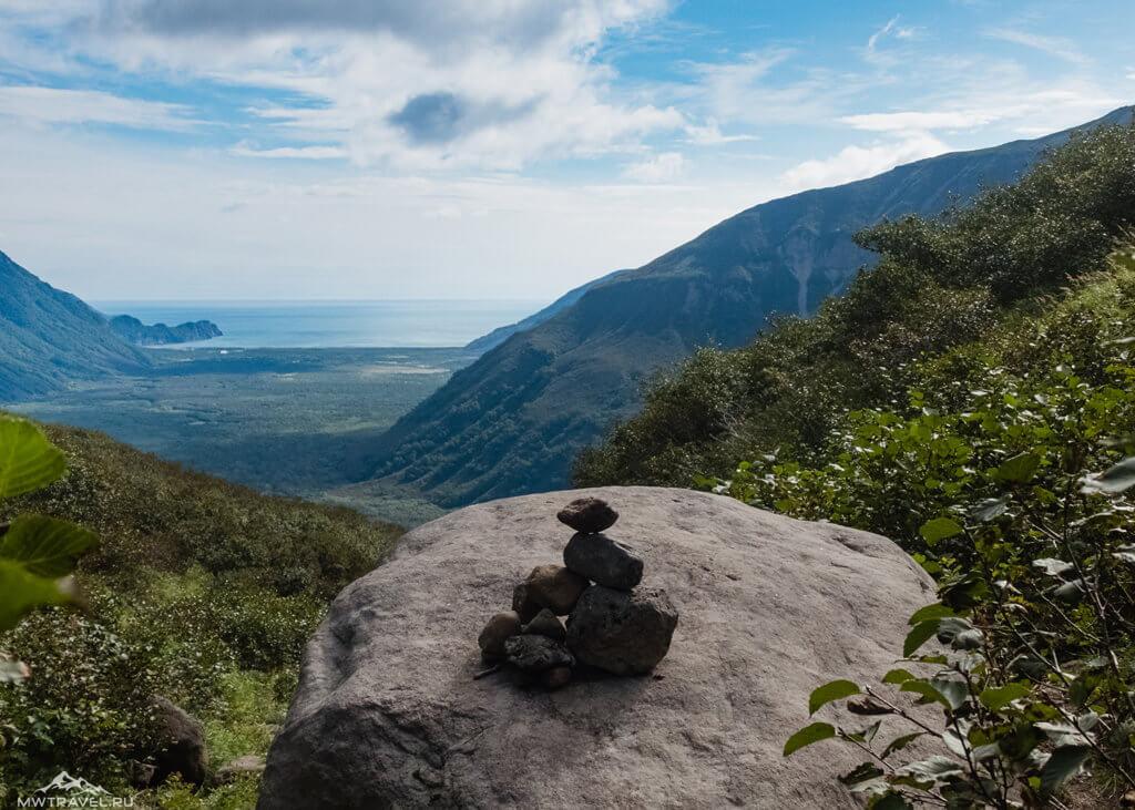 Поход по Камчатке: перевал тенуева