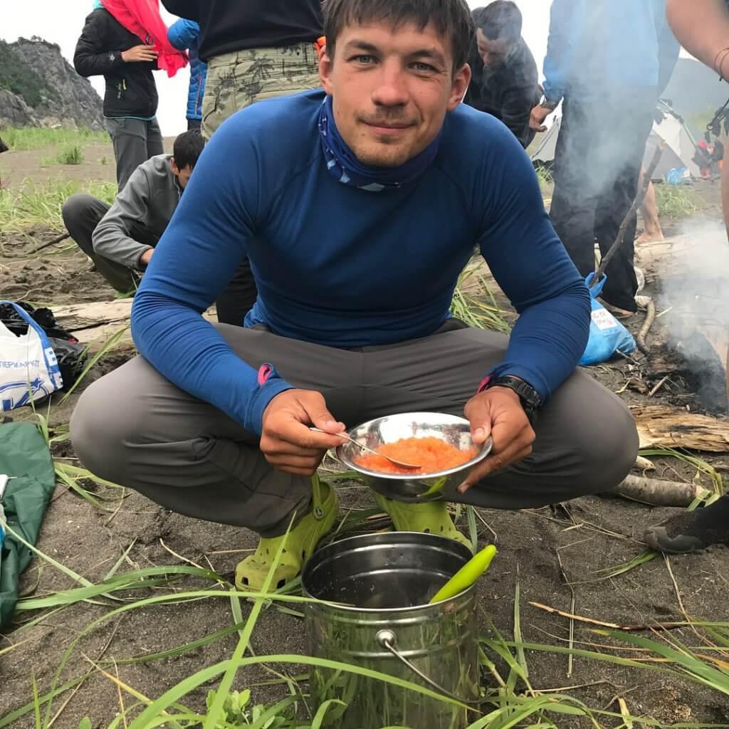 Поход по Камчатке: красная икра