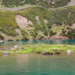 7 горное озеро на кавказе