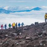 восхождение на авачинскйи вулкан