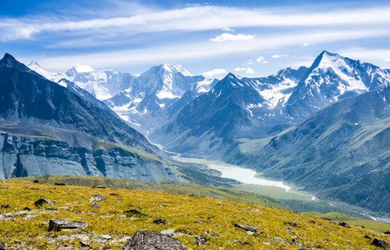 Поход по Алтаю к подножию горы Белуха