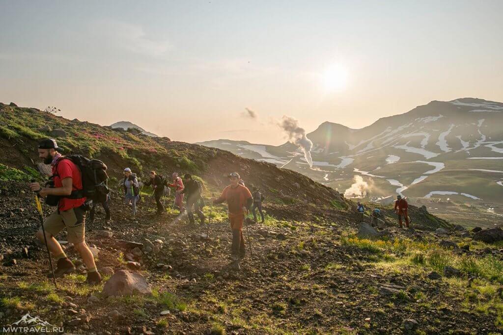 Поход по Камчатке Тихоокеанское кольцо