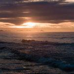закат тихийо океан халактырский пляж