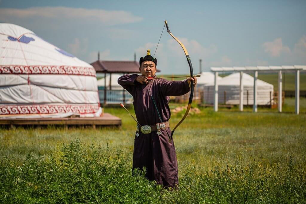 Этно-парк Золотая Орда на Байкале