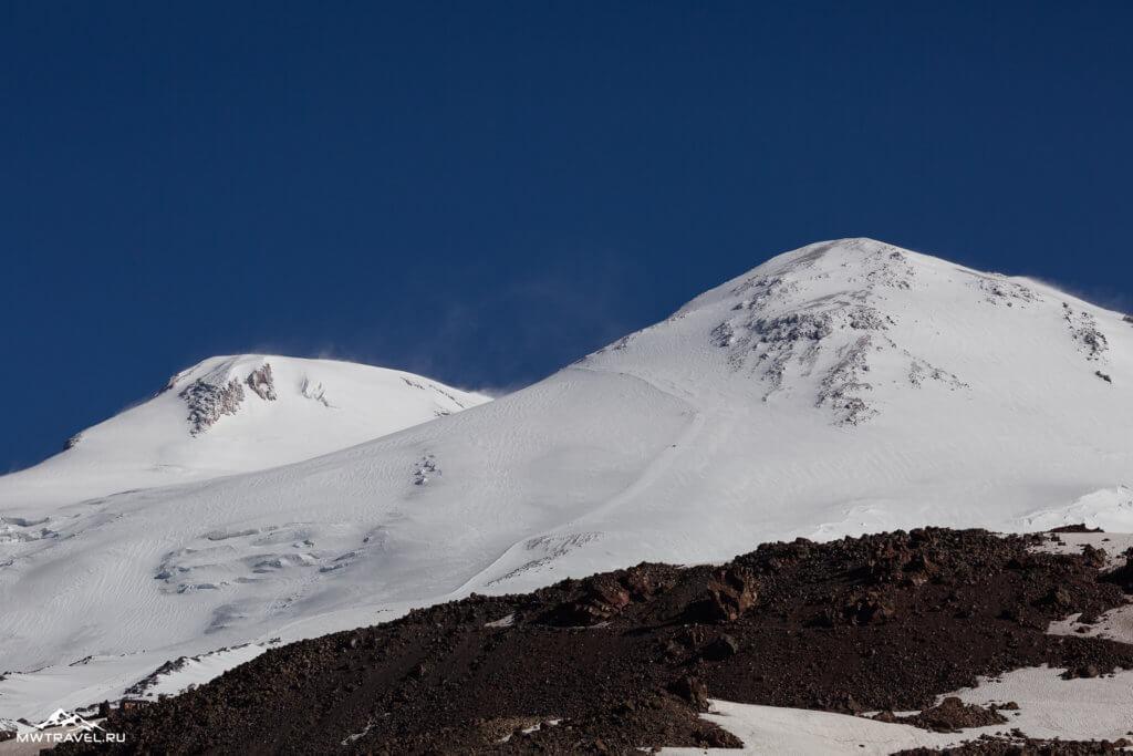 2 две вершины эльбруса