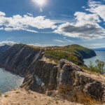 панорама острова ольхон