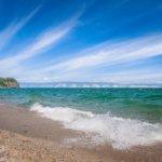 волны на озере байкал