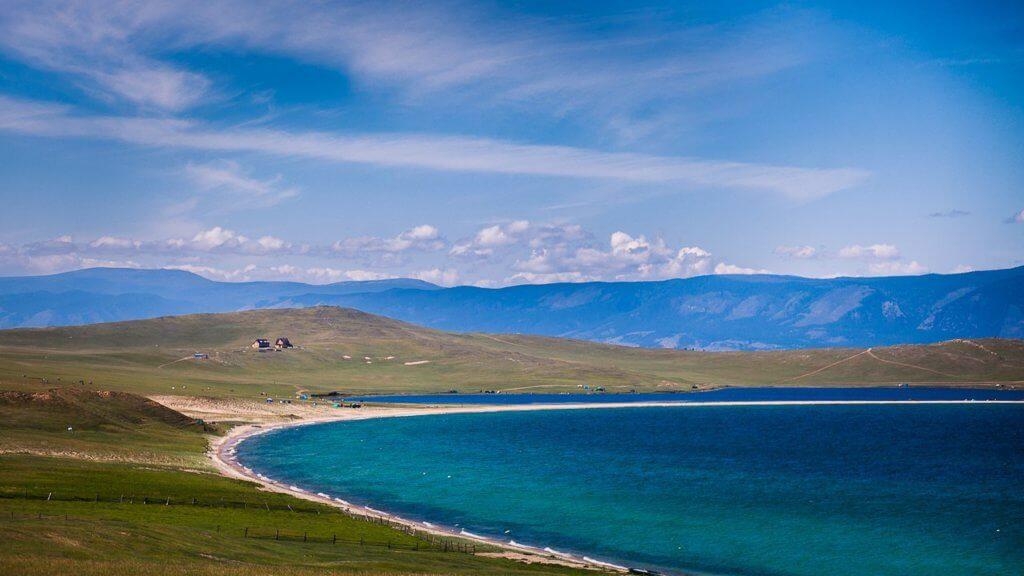 озеро ханхой на острове ольхон