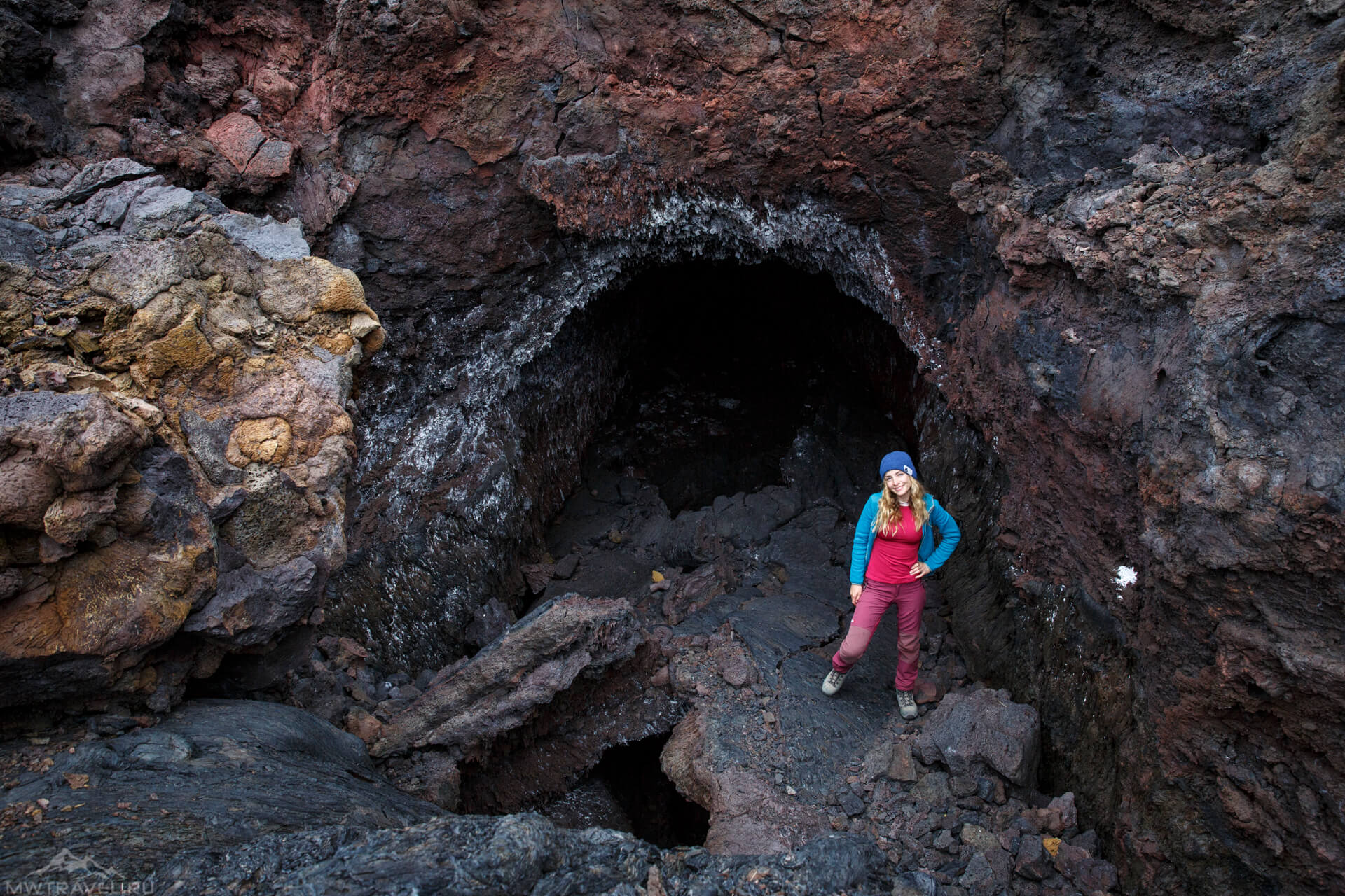 лавовые пещеры вулкана толбачик