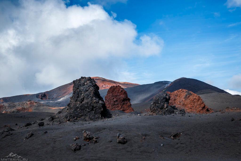 вулкан толбачик камчатка