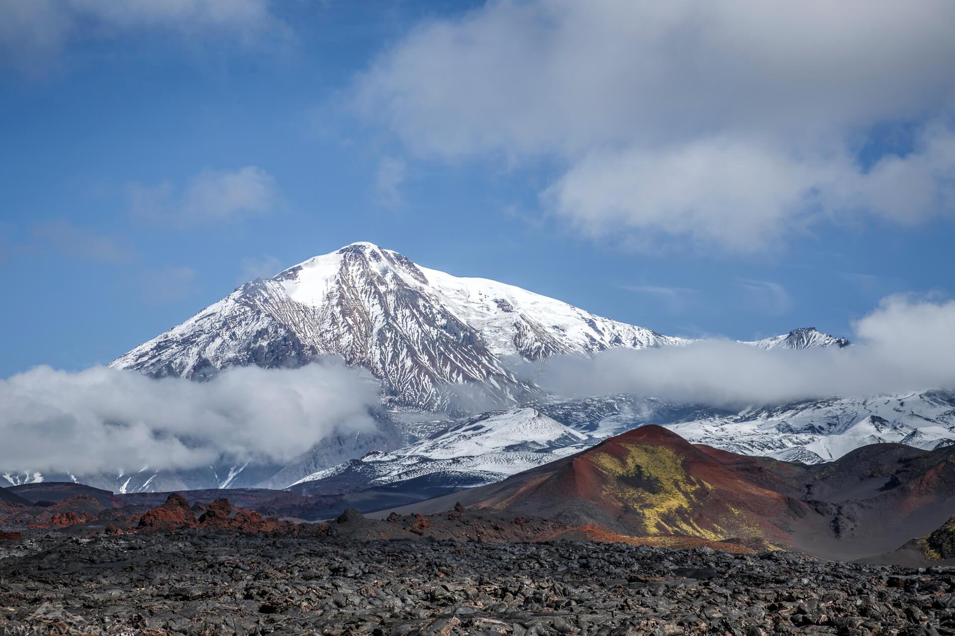 вулкан на полуострове камчатка