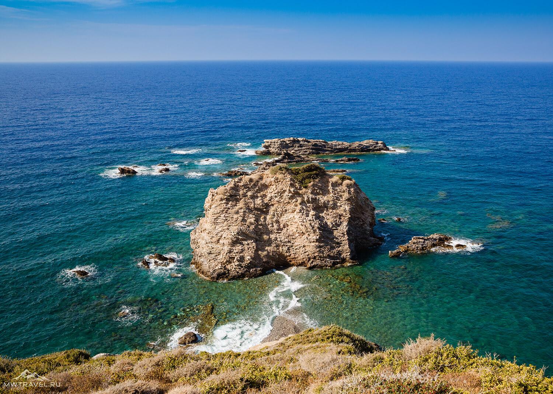Ликийская тропа в Турции Средиземное море