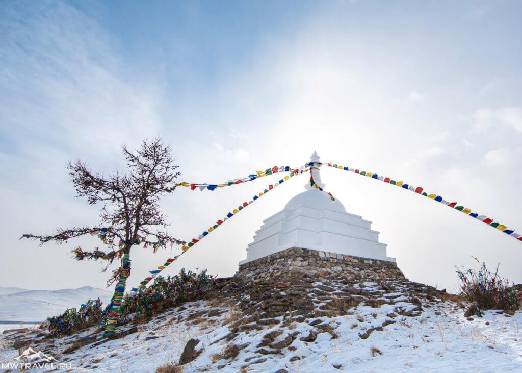 буддистская ступа просветления остров огой на байкале