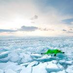 ледяные торосы на байкале