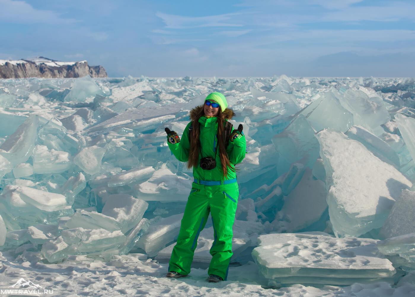 Озеро Байкал зимой: фото и отчет о походе по льду