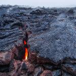 лавовое поле вулкана толбачик на камчатке