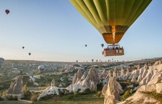 Путешествие по Турции: Каппадокие, Памуккале, Стамбул, старая Анталия