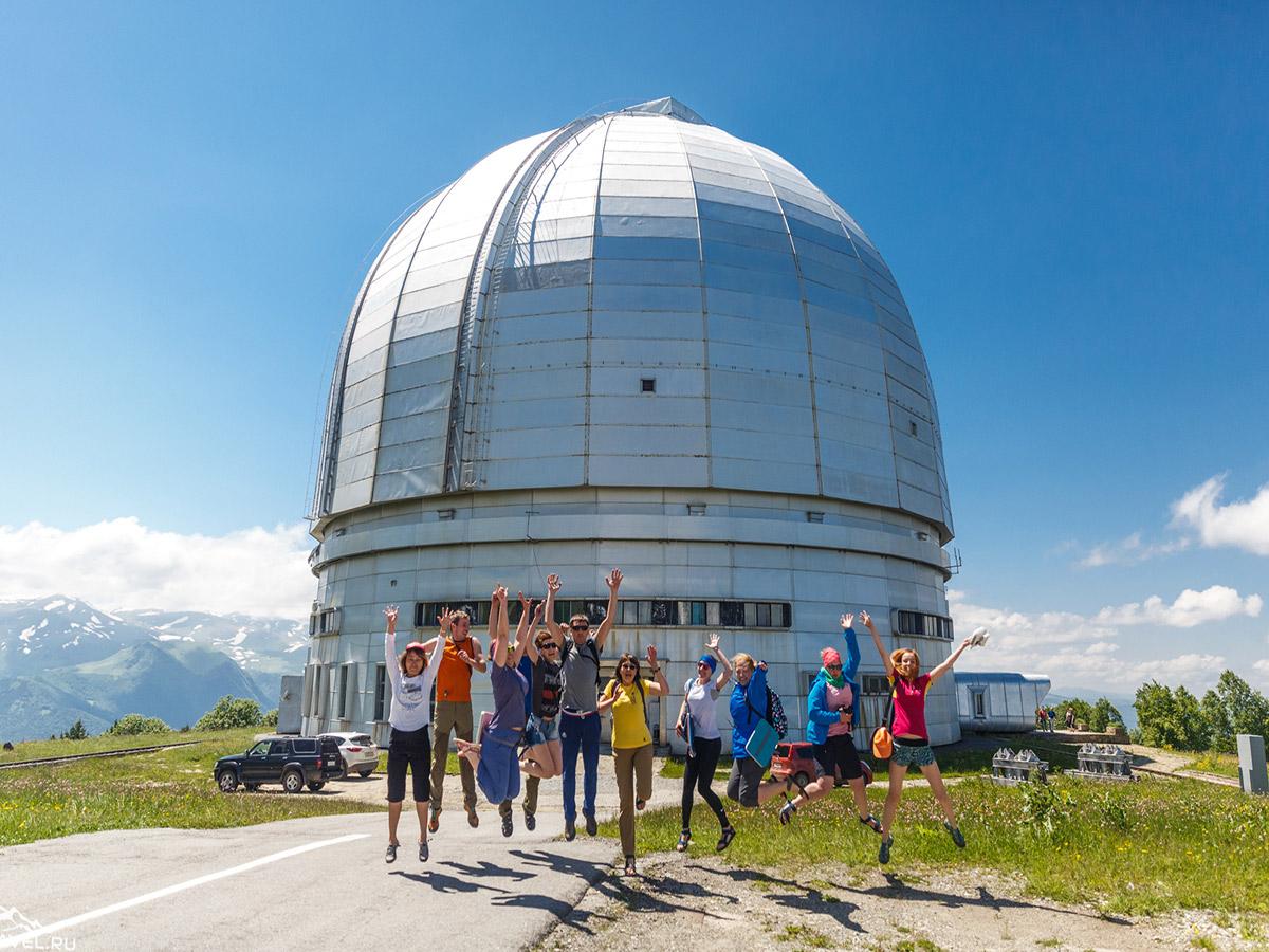 Специальная астрофизическая обсерватория РАНН, поселок Нижний Архыз