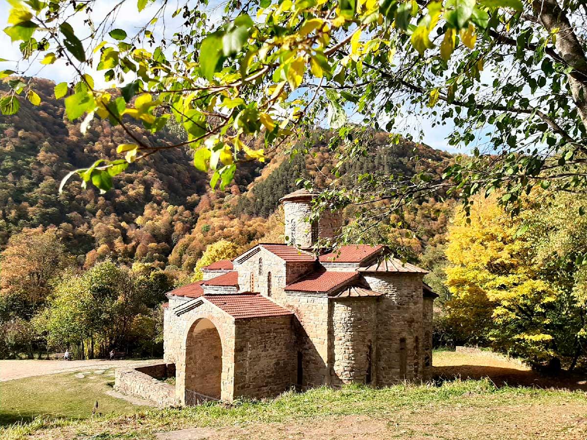 Древние аланские храмы IX века