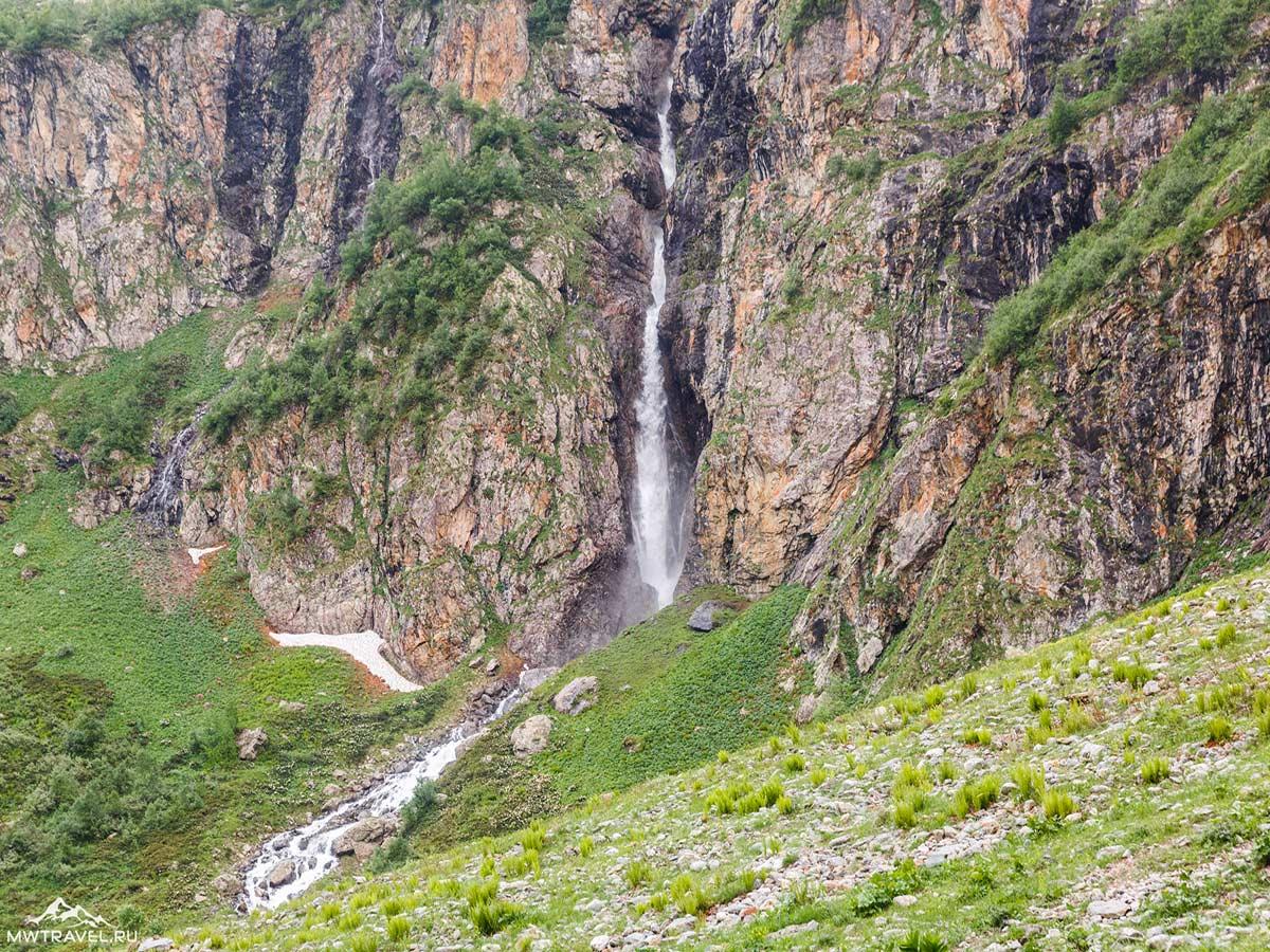 Водопад Ак-Айры, тропа на Софийские озера