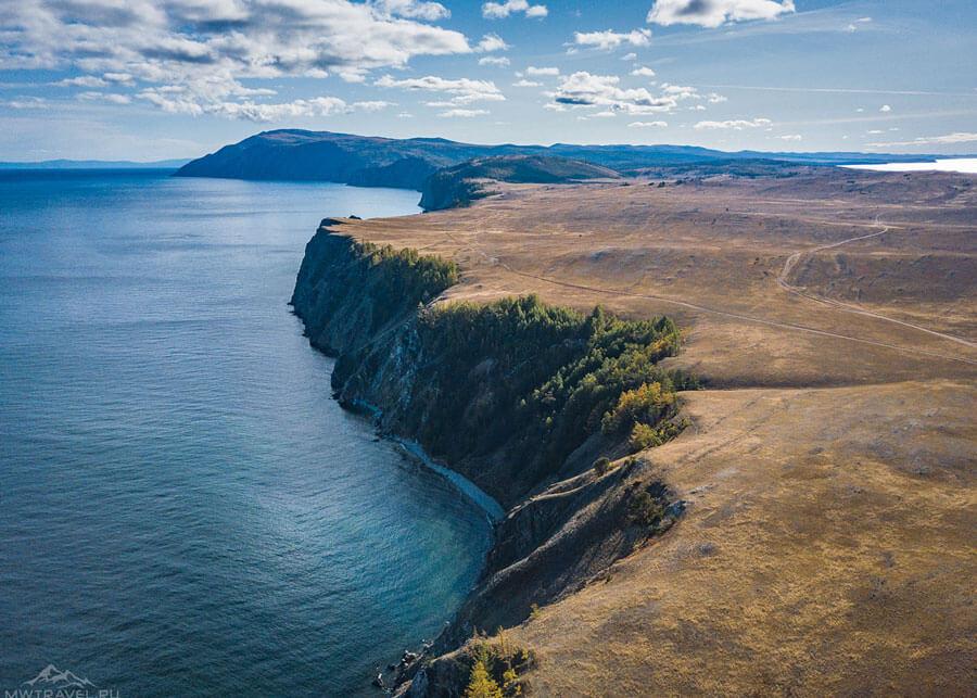 Поход с палаткой на Байкале