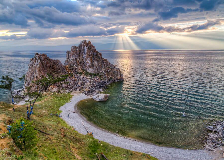 Поход с рюкзаком по Байкалу