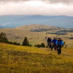 поход на велосипедах по Байкалу летом